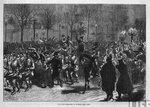вступление пруссаков в Париж, январь 1871 года