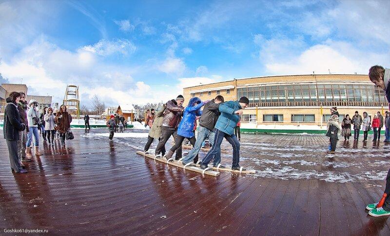 ЛОП «Ершово»… здесь в воскресенье 6 марта весну встречали работники Управления Федеральной службы судебных приставов по Московской области и члены их семей.