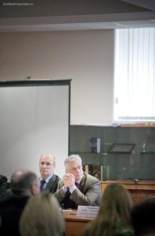 мэр Одинцово Александр Гусев, депутат Госдумы Валентин Друсинов