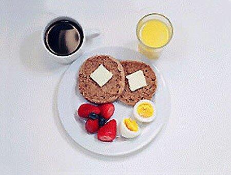 Полезные завтраки из 300 калорий
