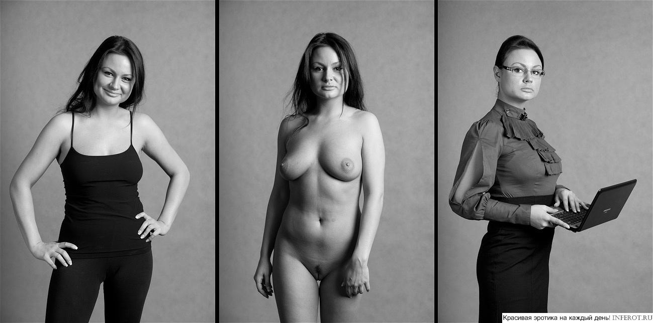 Фото голых девушек можно наклонять одевать 18 фотография