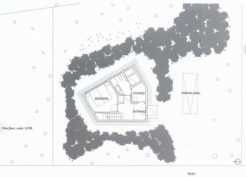 генеральный план участка, жилой дом, Япония  JA00523