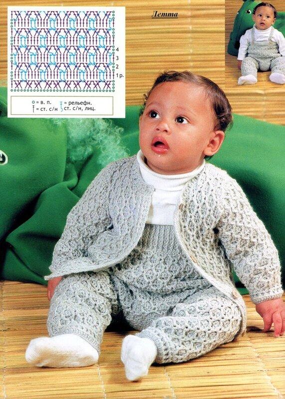 Вязание крючком для малышей до года крючком 21