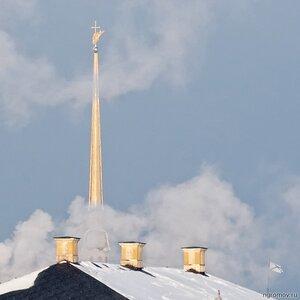 Опус 69489 (Дворец Меньшикова, крыша, Петербург, Петропавловский собор)