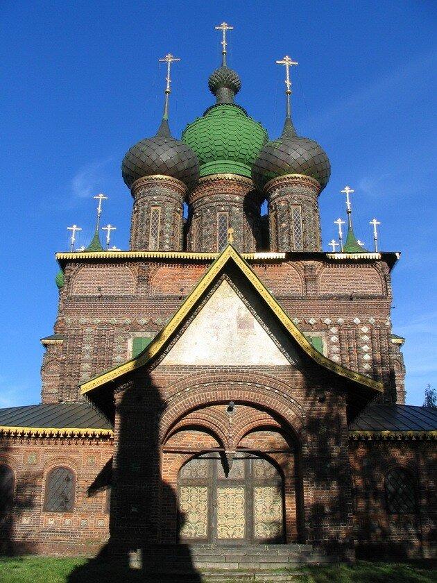 Церковь Иоана Предтечи. Ярославль