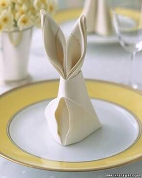 Салфетки для праздничного стола