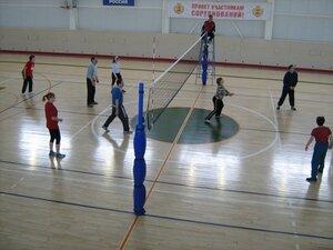 соревнования по воллейболу в Ядринском районе Чувашии