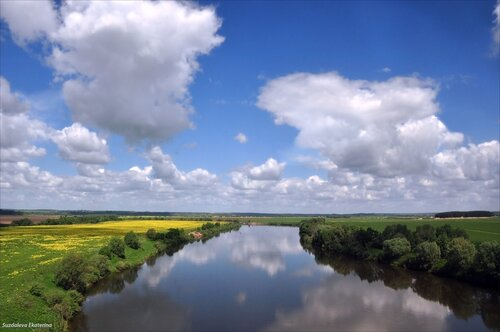 Пейзаж в Калужской области