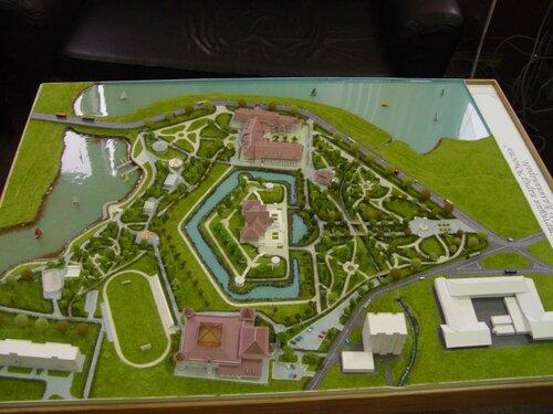 Визуальзация местности