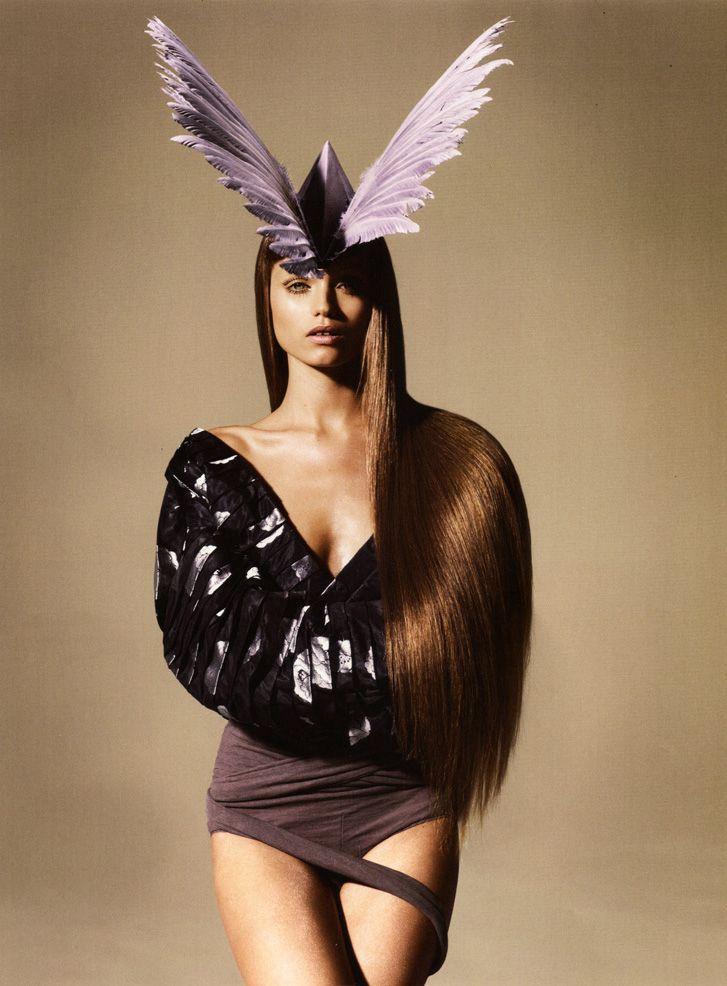 модель Эбби Ли Кершоу / Abbey Lee Kershaw, фотограф Miguel Reveriego