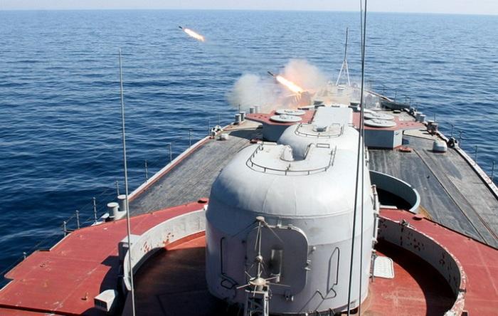 На Тихоокеанском флоте проведены учения в море