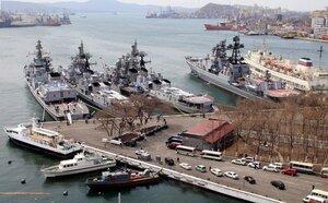 Сегодня делегация военных атташе 55 стран завершила поездку на Тихоокеанский флот и убыла в Москву