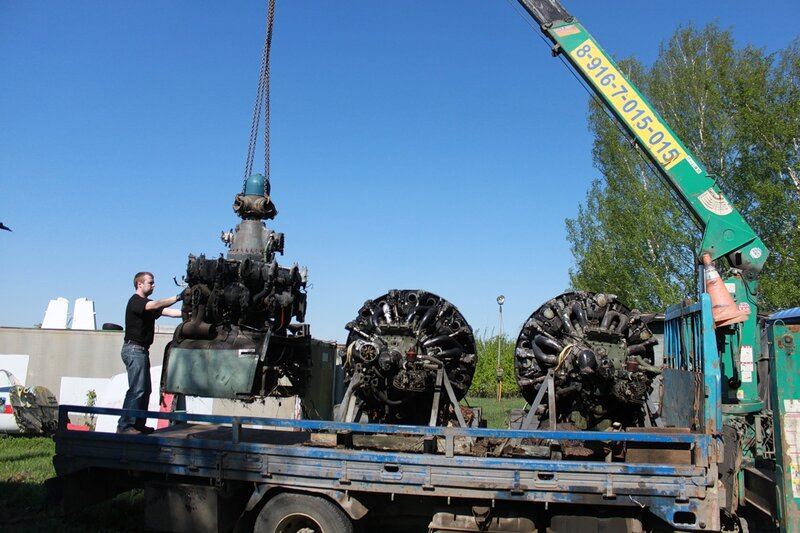 погрузка АШ-82Т