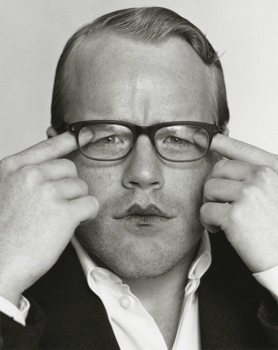 Photographer Herb Ritts.Philip Seymour Hoffman