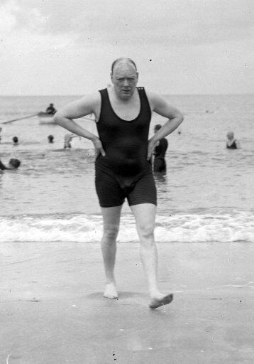 Winston Churchill  France