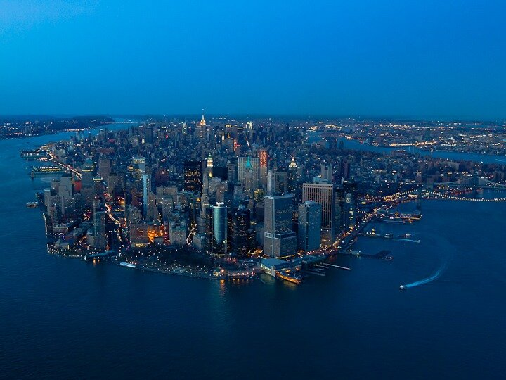 ночной Нью-Йорк ,фотограф Evan Joseph