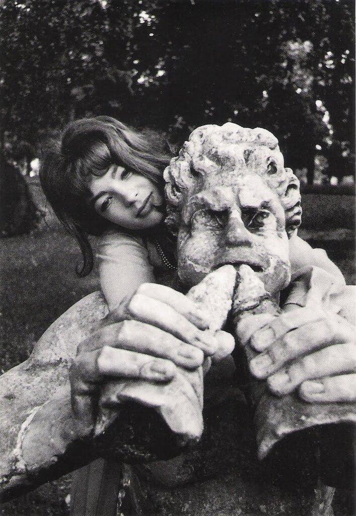Romy Schneider в Риме 1963