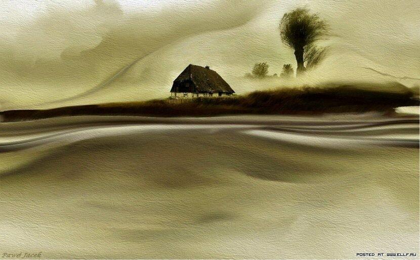 Картины из разноцветного песка