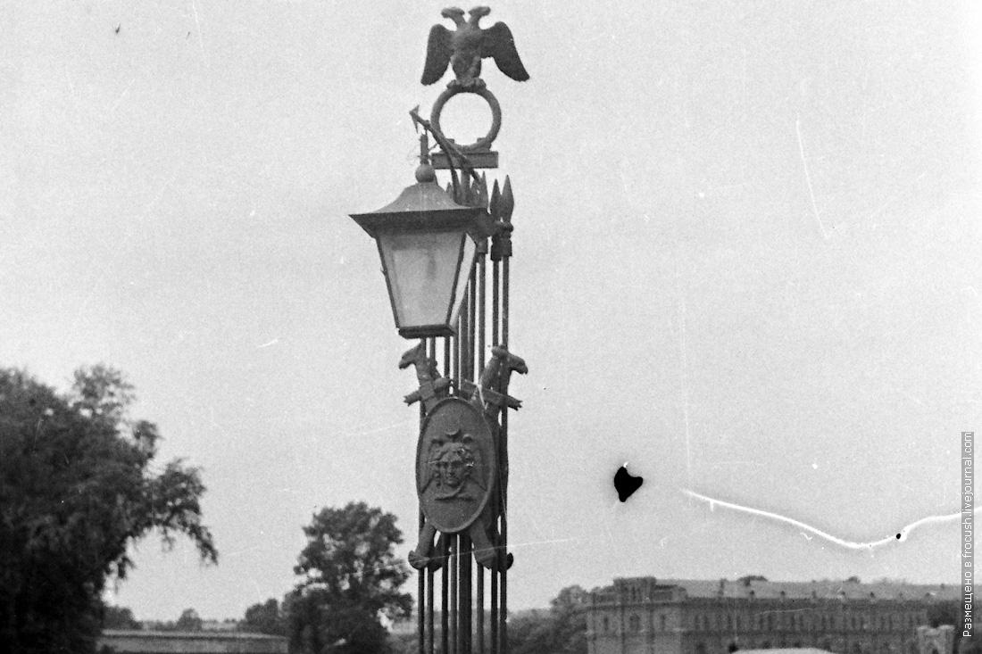 Иоанновский мост Ленинград 1985 год