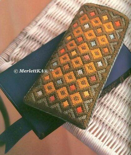 Флорентийская вышивка - футляр
