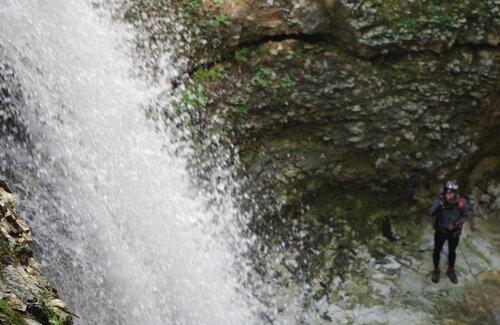 водопад в с.Нихалой