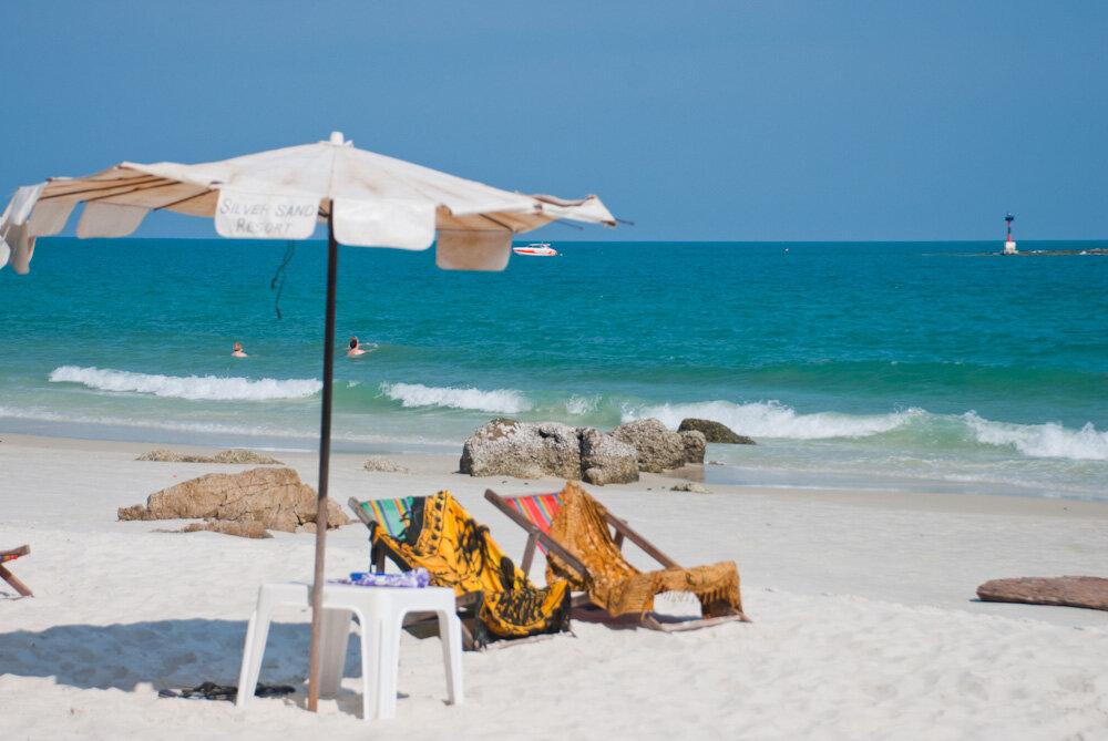 остров Самет пляж Ао Хин Хок и Хат Нага