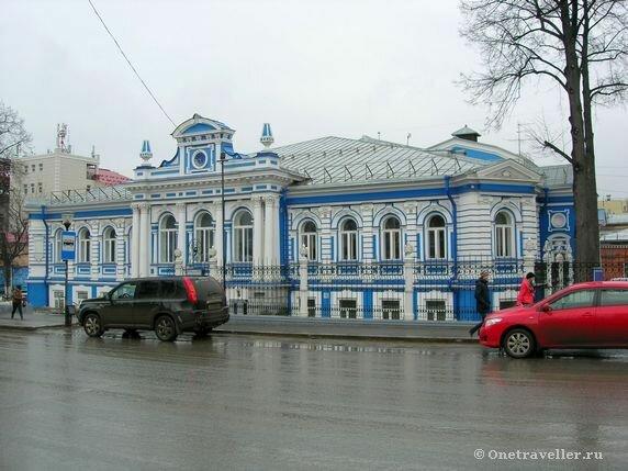 Пермь. Особняк Е.И. Любимовой (XIX век)