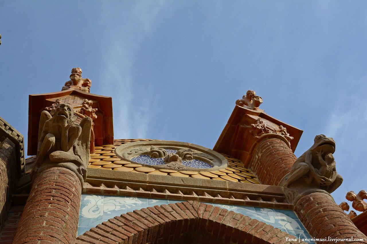 Больница Сант-Пау или Святого Павла (Hospital de la Santa Creu i Sant Pau) в Барселоне