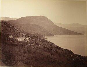 Вид на Костыль-гору у деревни Кучук-Ламбат.