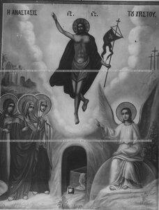 Вознесение Христа на небо - икона лейб-гвардии Семеновского полка.