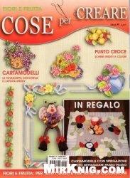 Журнал Cose per Creare №4 2010 - Fiori e Frutta