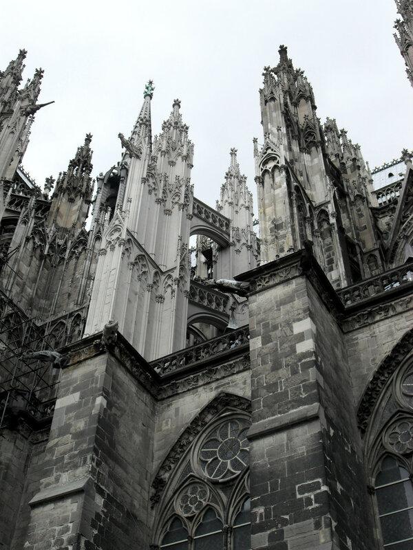 Кельнский собор. Высота