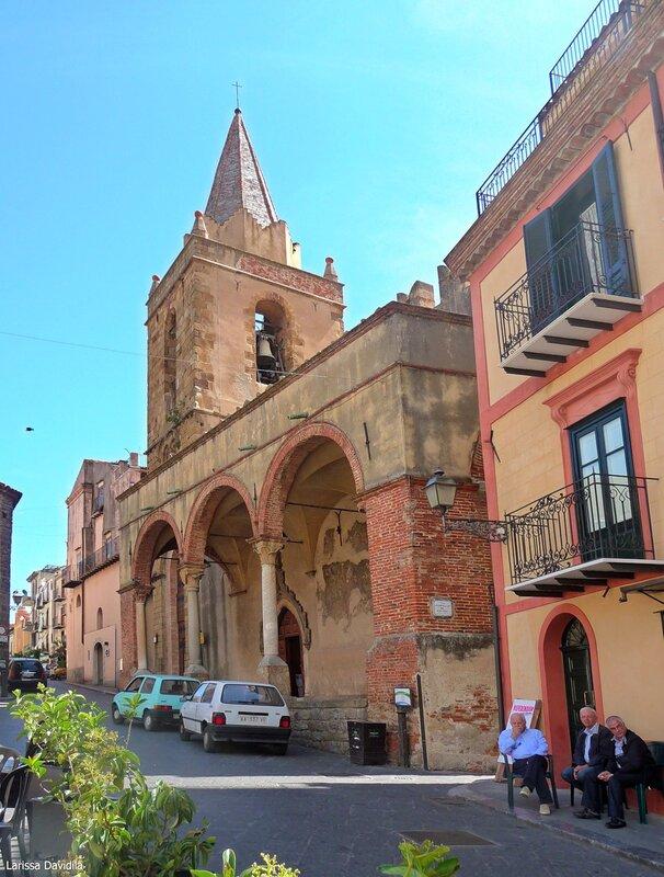 Церковь Matrice Vecchia. Castelbuono.