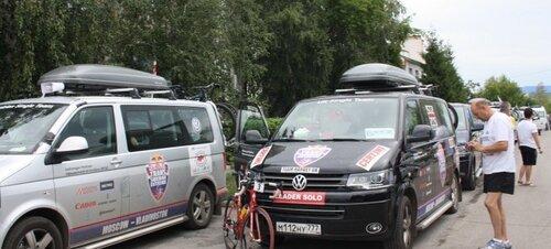 Велопробег в Барабинском районе