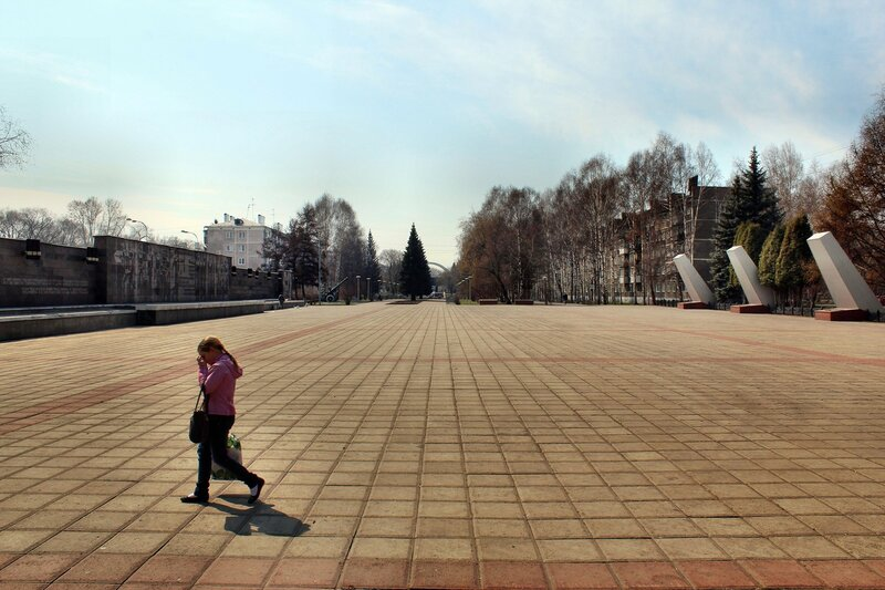 Бульвар Героев.