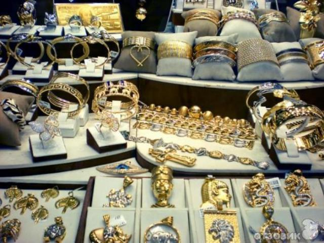 Золотой базар в центре Дубая