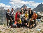 Фотографы на вершине перевала
