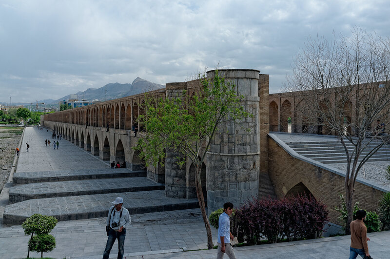 Исфахан. Мост Сис-о-Се Поль.