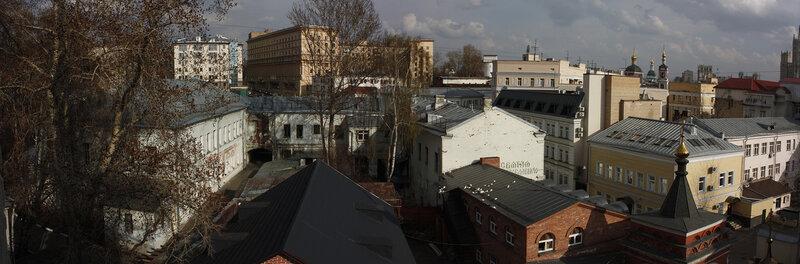 Вид с колокольни церкви Николы в Подкопаях 04/22/2012