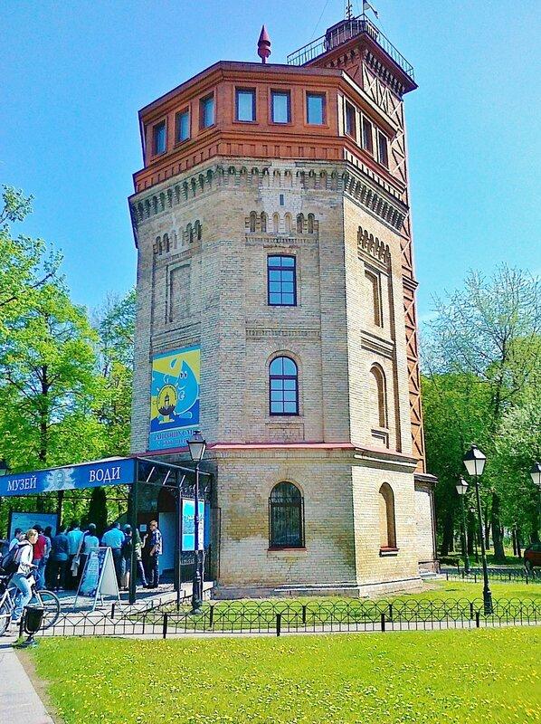Музей воды в Хрещатом парке