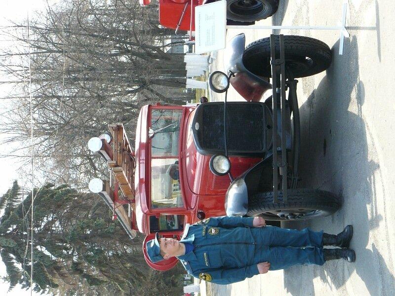 365-летию со дня образования службы пожарной охраны