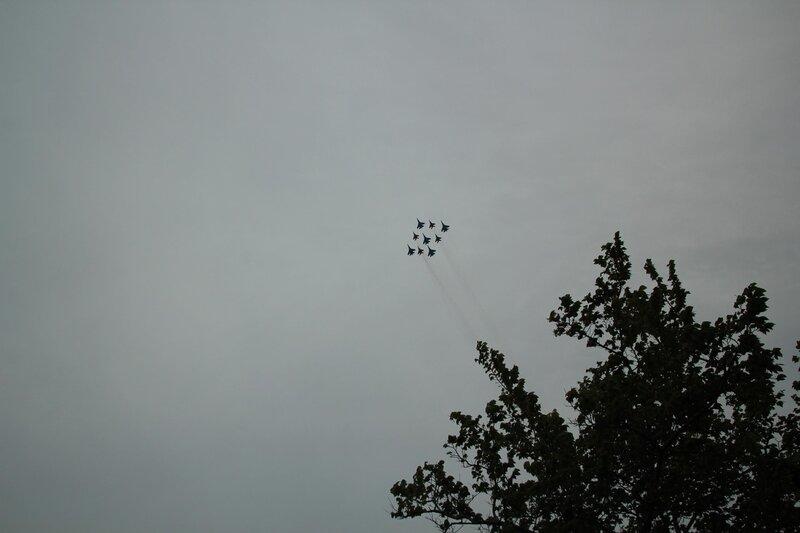 Авиапарад в День Победы