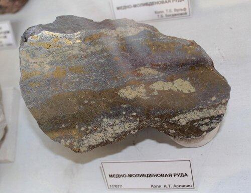 Медно-молибденовая руда