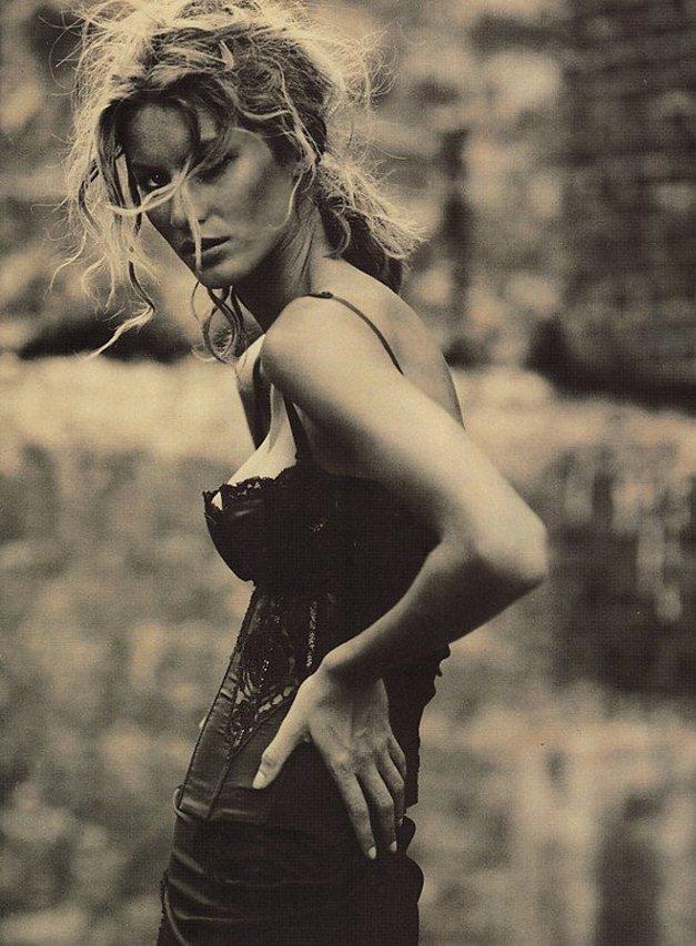модель Жизель Бюндхен / Gisele Bundchen, фотограф Paolo Roversi