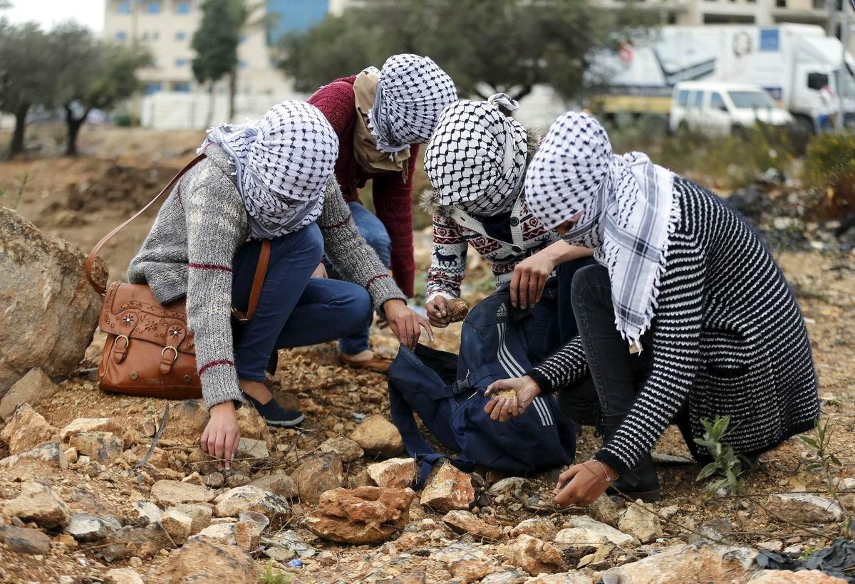 Боевые подруги: Палестинские подносчицы боеприпасов