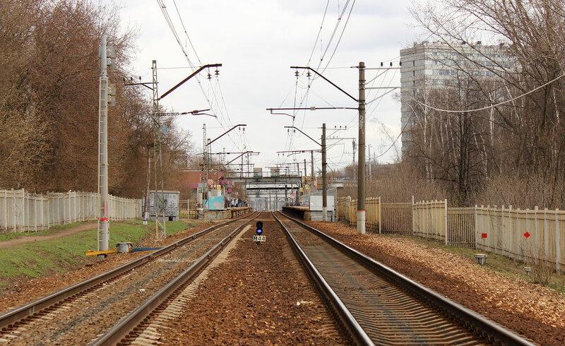 Платформа Лениградская и М44