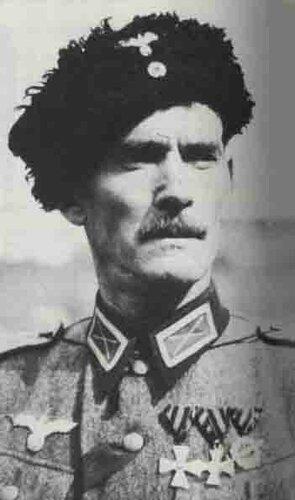 Казак-СС георгиевский кавалер