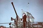 1940-01-01 Бофорс зенитные пушки на корабле. Роченсальме. Примечание: Корабль ваш vrit войны книга. Фотографии из Финляндии за 1941-1944 годах (WSOY, 2000), p. 114.