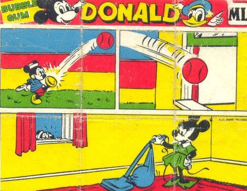 Donald Duck & Mickey Mouse