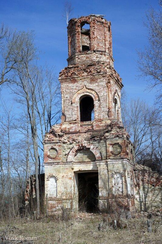Колокольня храма Св. Троицы в с. Старые Мёдуши